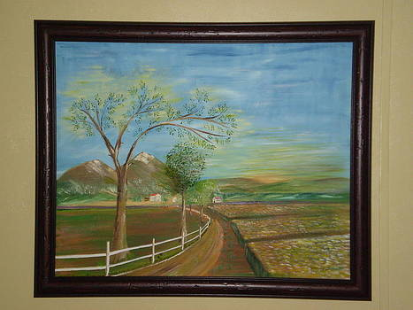 Country Path by Harold Messler