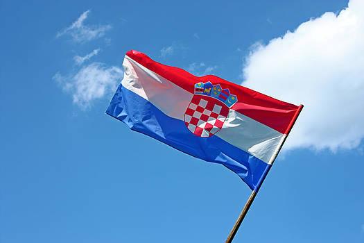 Croatian flag by Borislav Marinic