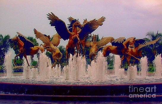 Dancing Horses by Judy Palkimas