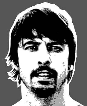 Dave Grohl by Dan Carman