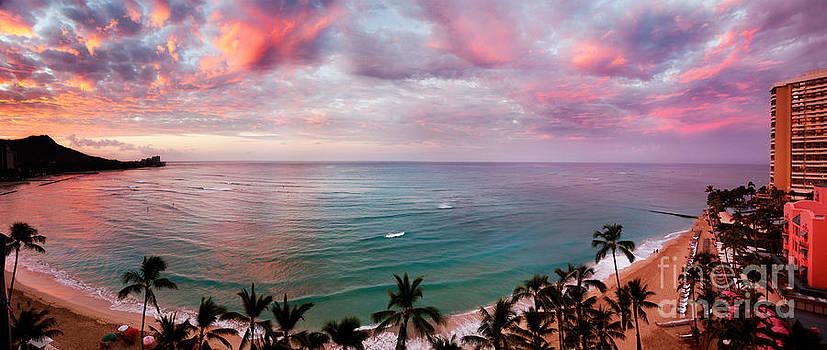 Jo Ann Snover - Dawn at Waikiki Beach