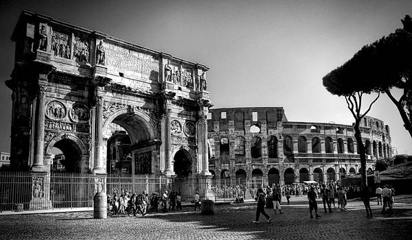 Day at the Coliseum by Karen Lindale