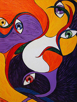 Dentro de una mirada by Duka Lourdes Aguirre