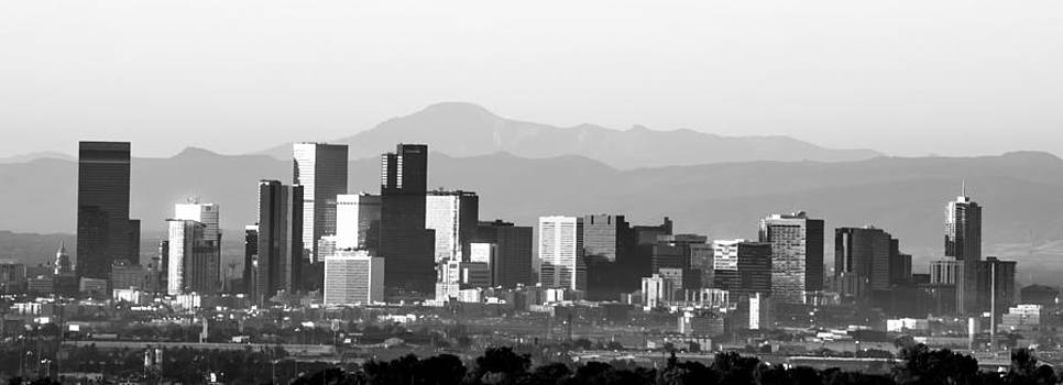 Denver Skyline by Colleen Coccia