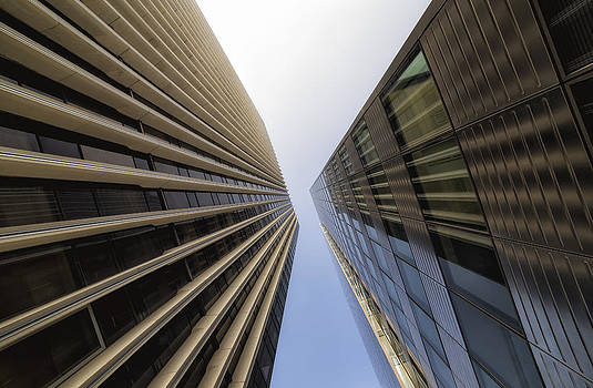 Detail of Modern Architecture. City Life by Francesco Rizzato