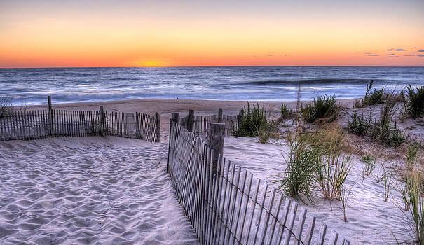 Dewey Beach Sunrise by David Dufresne