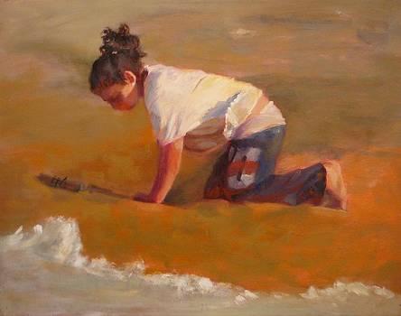SOLD Digging by Irena  Jablonski