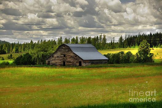Eastside Road Barn by Sam Rosen