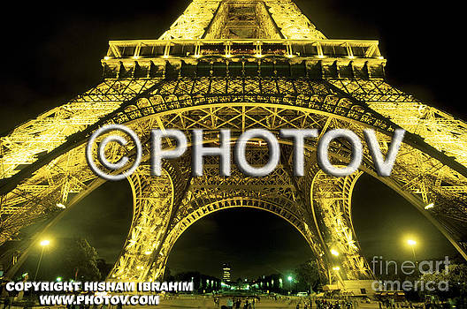Eiffel Tower Paris - Limited Edition by Hisham Ibrahim
