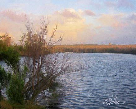 Evening on Roanoke Sound by Forest Stiltner