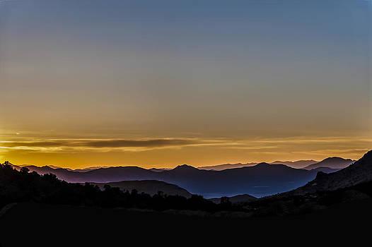 Extraterrestrial Highway Sunset by Gej Jones