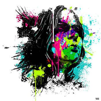 Face Paint 4 by Jeremy Scott