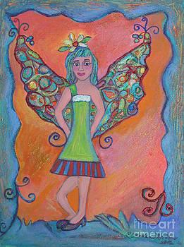 Fairy Pose by Marlene Robbins