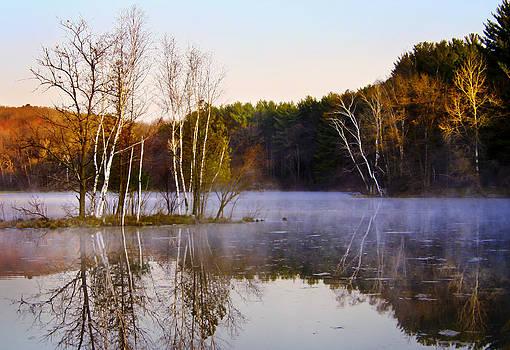 Barbara Smith - Fall at Allen Lake