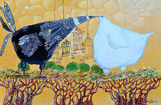 First kiss by Yelena Revis