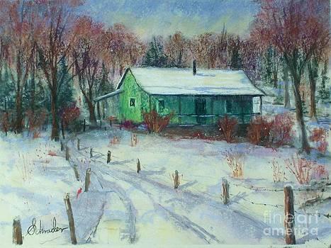 First Snow by Bruce Schrader