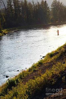 Sophie Vigneault - Fisherman at sunset