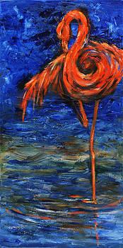 Flamingo by Xueling Zou