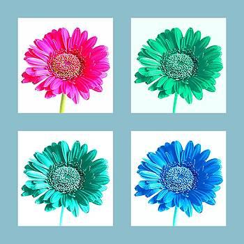 Bishopston Fine Art - Flower Collage