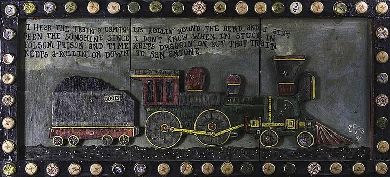 Folsom Prison Train by Eric Cunningham