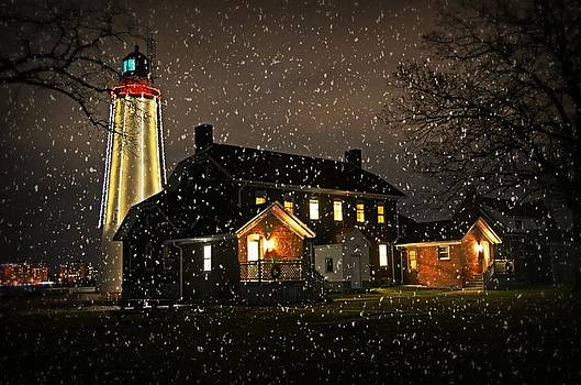 Fort Gratiot Lighthouse by Cheryl Cencich