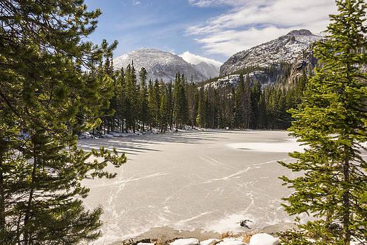Brian Harig - Frozen Nymph Lake - Rocky Mountain National Park Estes Park Colorado