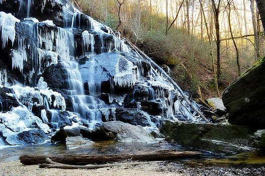 Frozen Waterfall by Adam LeCroy