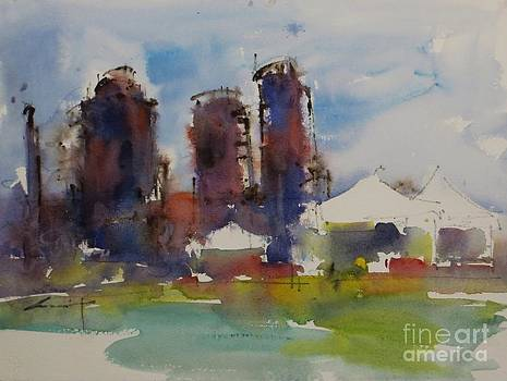 Gasworks Park by Jennifer Wu