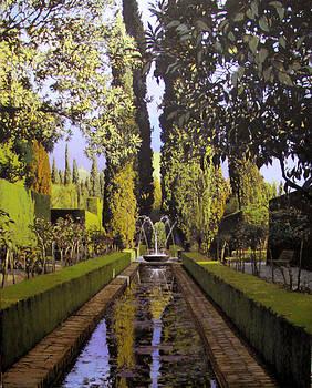 Generalife Jardines by Victor  Candela