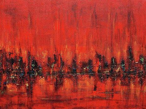Ghost city by Beata Belanszky-Demko
