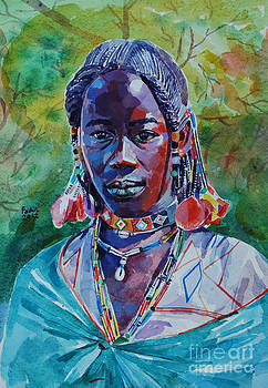 Girl from western Sudan by Mohamed Fadul