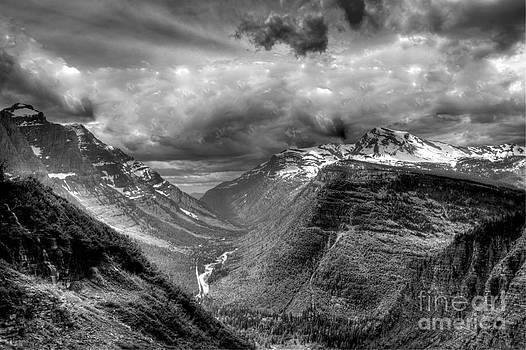 Glacier Park by Hurley Dean