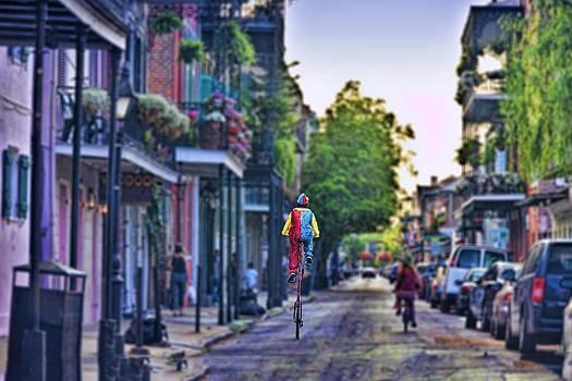 French Quarter Biker by Gej Jones