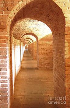 Golden Corridor  by Cheryl Casey