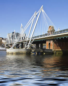 David French - Golden Jubilee bridges London