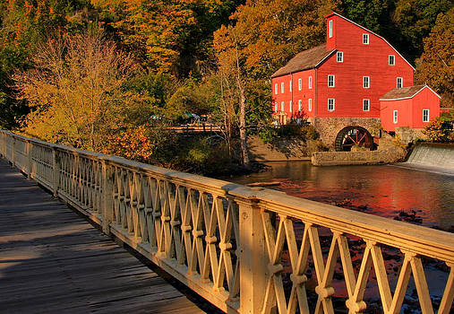 Good Morning Red Mill by Pat Abbott