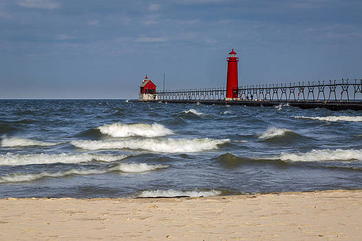 Jack R Perry - Grand Haven Lighthouse MI