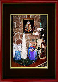 Happy Holidays by Eve Riser Roberts