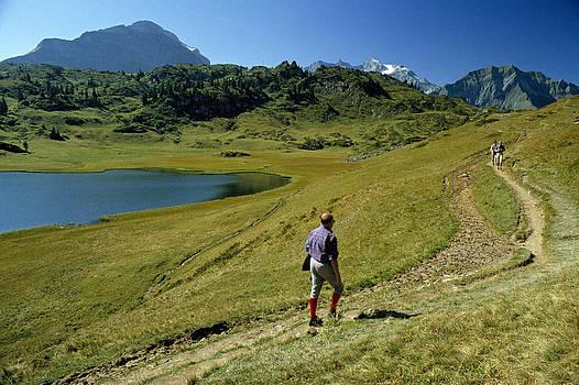 Hochtannberg Pass Austria 1988 by David Davies