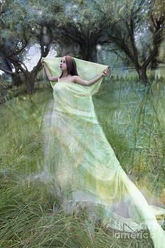 Angel  Tarantella - in the orchard
