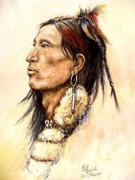 Indian profile Study by Amanda Hukill
