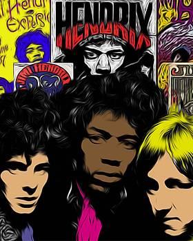 Jimi Hendrix  by GR Cotler