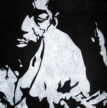 John Coltrane by Ray Johnson