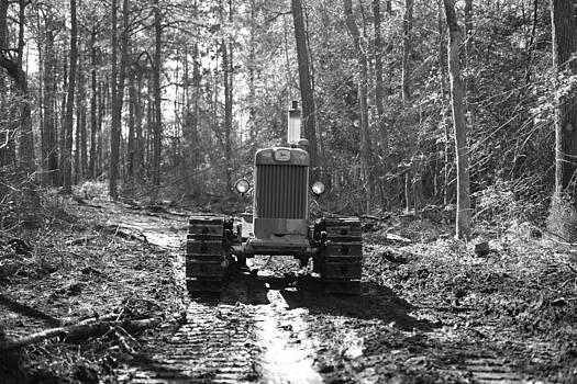 John Deere Tractor Model 430 by George Miller