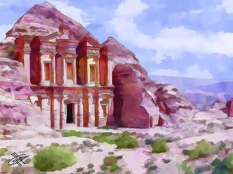 Jordan/petra by Fayez Alshrouf