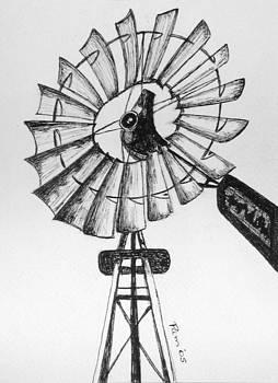 Pam Belcher - Kansas Windmill