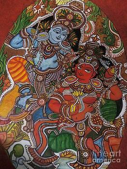 Rekha Artz - Kerala Mural