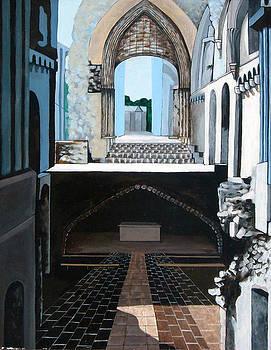 King Arthurs Tomb by Annette Jimerson