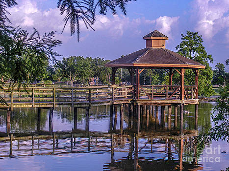 Lafreniere Gazebo by Renee Barnes