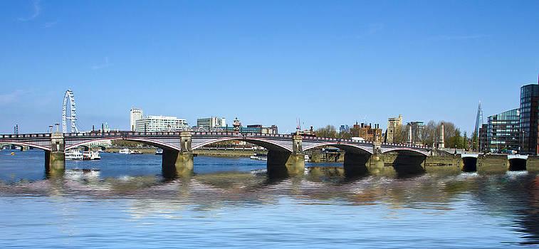 David French - Lambeth Bridge Thames London